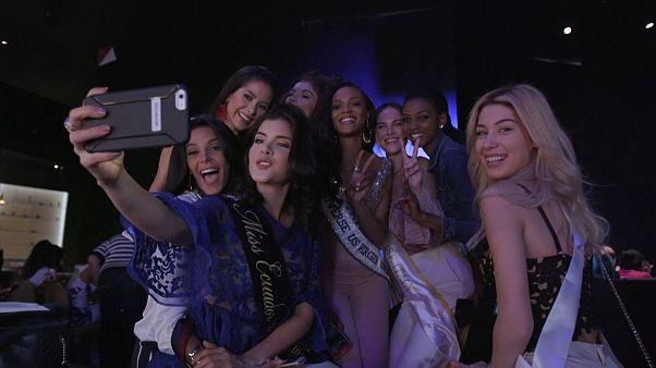 Мировые красавицы слетелись в Лас-Вегас