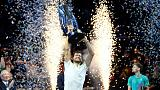 البلغاري ديميتروف يفوز بالبطولة الختامية لموسم التنس