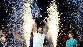 Димитров выиграл финальный турнир ATP