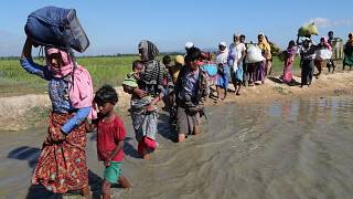Bangladesh and Myanmar begin talks over refugees
