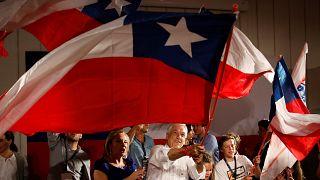 Pinera nyerte az elnökválasztás első fordulóját Chilében