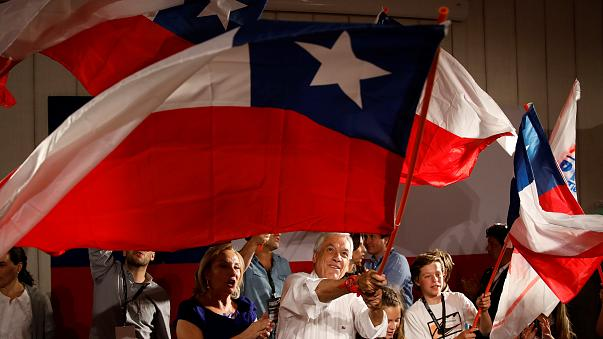 Pinera wins first round of Chile poll but fails to avoid run-off