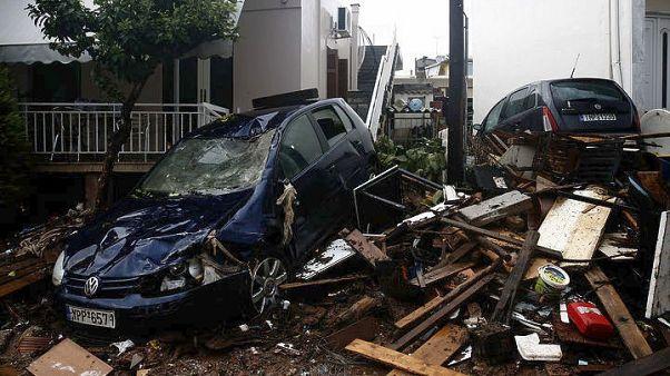 Görögországi áradások: 20 halott