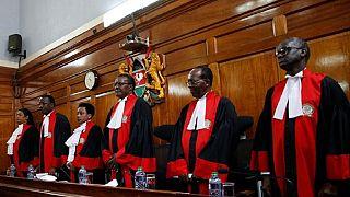 Kenya court upholds President Kenyatta's election victory