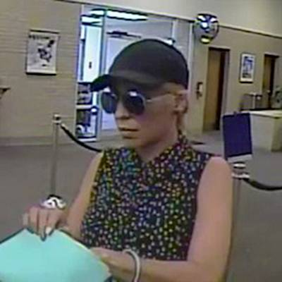 "Police are searching for a suspect, dubbed the ""Pink Lady Bandit,"" who is believed to have robbed banks in at least three states on the East Coast."