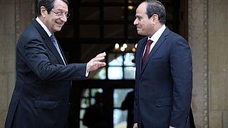Κύπρος: Ιστορική επίσκεψη Αλ Σίσι