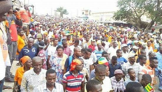 Demonstrations continue in Togo [no comment]