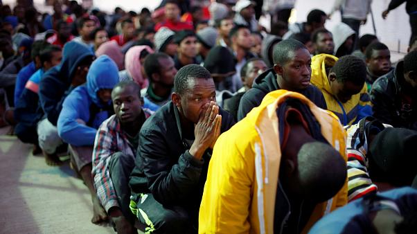 """""""تجارة العبيد"""" في ليبيا تثير السخط"""