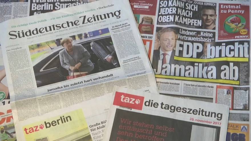 Alemanha: 63% a favor de eleições antecipadas