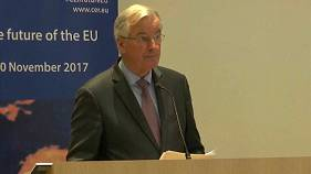 Barnier: UK can have 'ambitious' Brexit trade deal - at a price