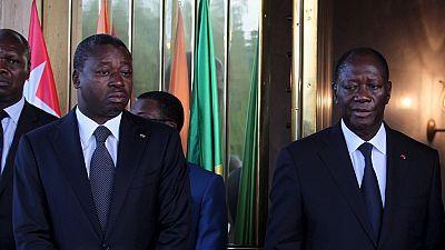 Faure Gnassingbé chez Ouattara — Togo / Côte d'Ivoire