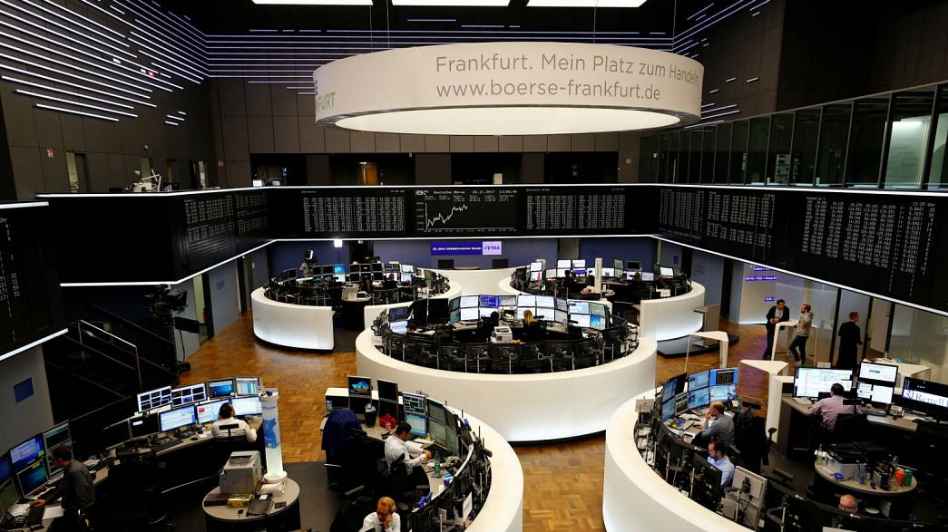 German stocks edgy but not spooked by political crisis