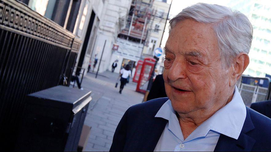 Hungary and Soros' war of words heats up