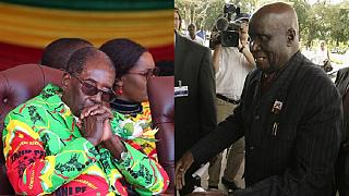 93-year-old ex-Zambian president sent to Mugabe amid political impasse