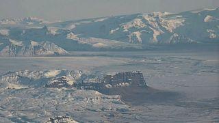 Island: Öræfajökull brodelt