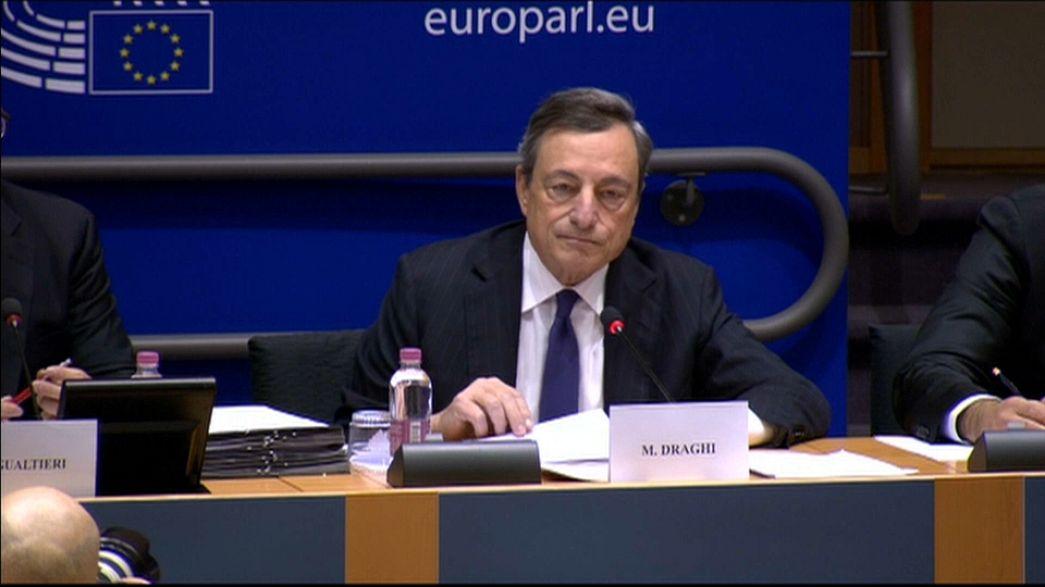 Draghi: Ekonomi büyüse de likidite desteğine ihtiyaç var