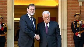 Abás reitera en Madrid su apoyo a la unidad de España