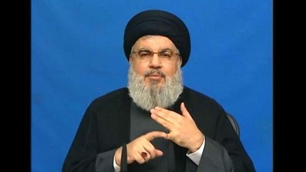 حسن نصرالله: آمریکا هنوز از داعش حمایت میکند