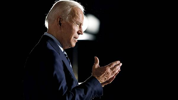 Image: Former Vice President Joe Biden speaks during a presidential candida