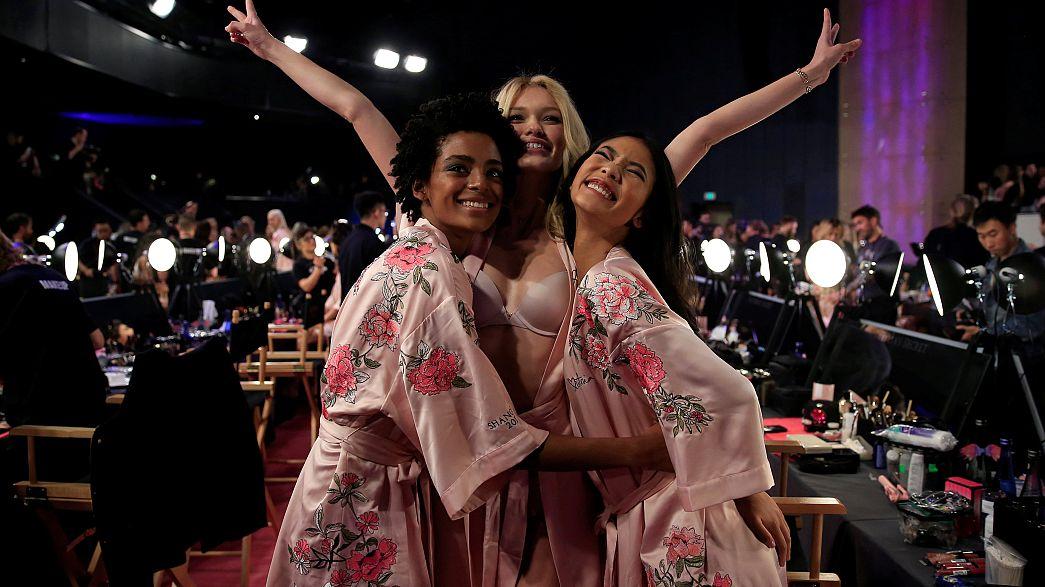 Take a sneak peek backstage at Victoria's Secret
