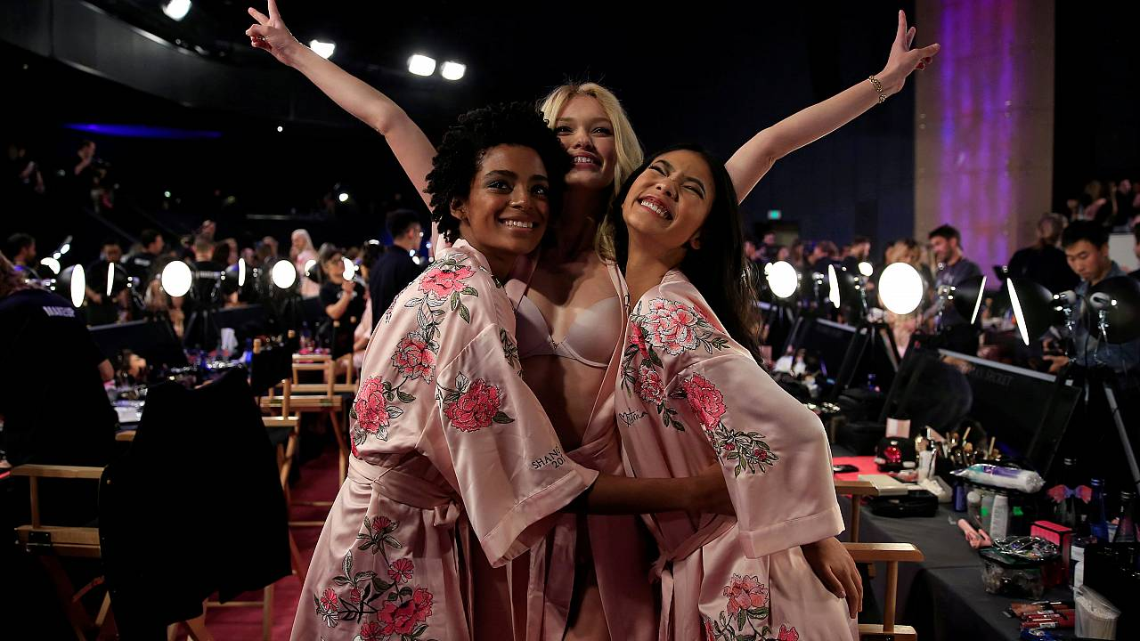 Take a sneak peek backstage at Victoria's Secret