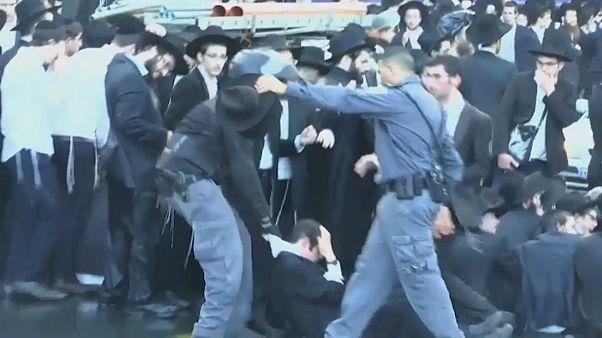 اشتباكات بين مئات اليهود المتدينين والشرطة الإسرائيلية