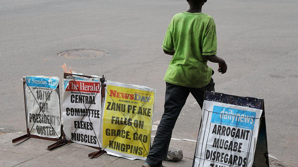 Amtsenthebungsverfahren gegen Mugabe