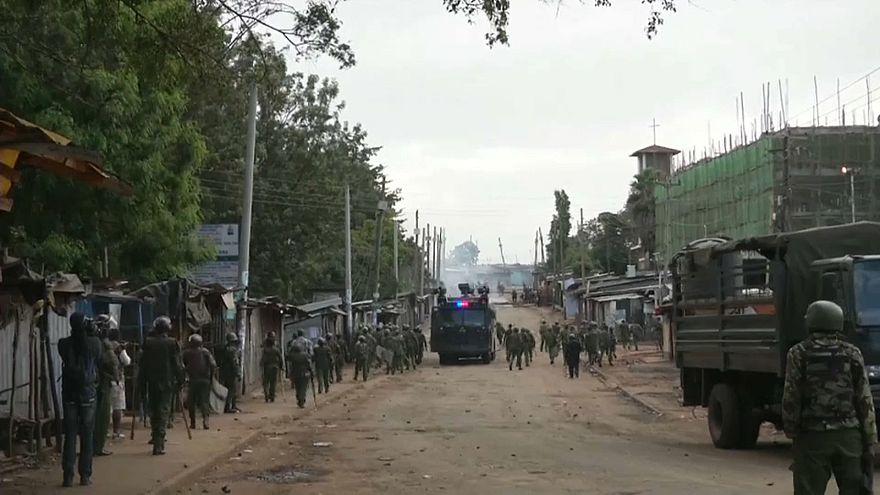 Столкновения на улицах кенийской столицы