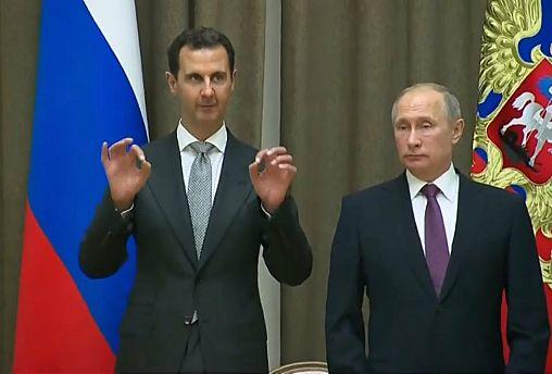 Assad visita o aliado Putin