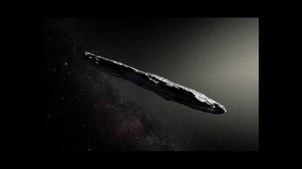 Un astéroïde en forme de cigare venu d'un autre système solaire
