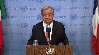 """Le chef de l'ONU est horrifié : """"l'esclavage n'a pas sa place dans le monde"""""""