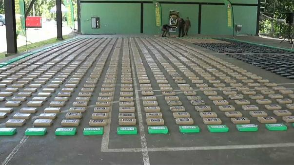 Panama on track for record illegal drug haul