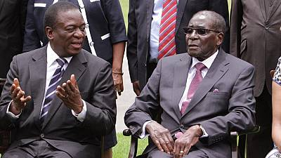 Image result for I never thought Mnangagwa would turn against me - Robert Mugabe