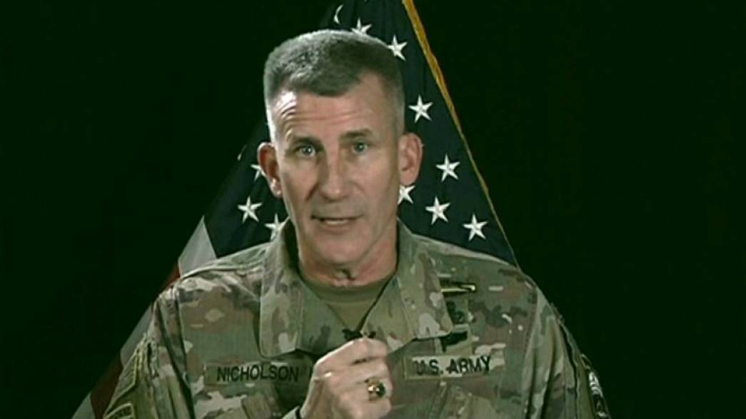 US starts bombing the Taliban to the negotiating table