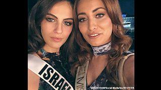 سلفی ملکه زیبایی عراق و اسرائیل خبرساز شد