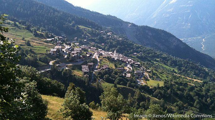 Αποτέλεσμα εικόνας για Ελβετία: Το χωριό Albinen