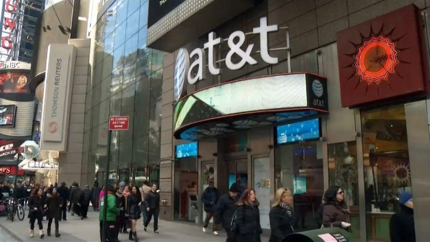 Autoridade judicial dos EUA processa AT&T