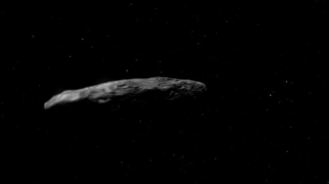 El fascinante viaje del asteroide Oumuamua