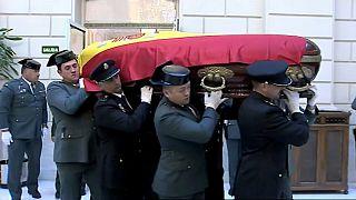 Elogios y silencios en España tras el regreso de los restos mortales de José Manuel Maza