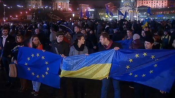A kijevi forradalom évfordulója