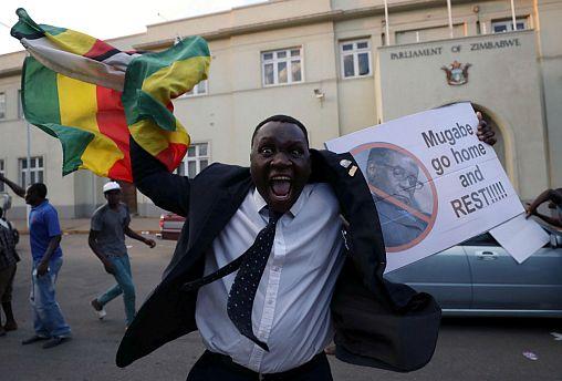 Watch live: Mugabe resigns as president of Zimbabwe