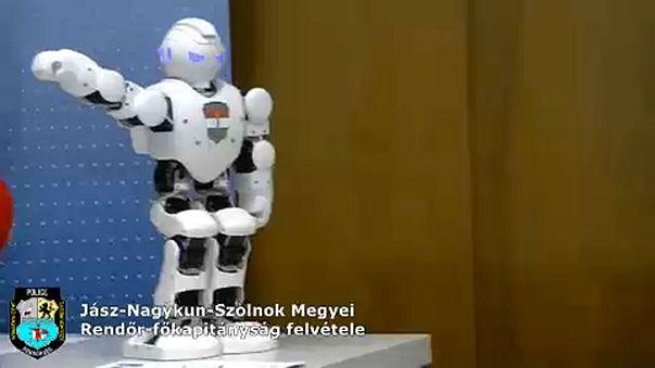 Robotzsaru a magyar rendőrségen