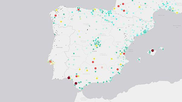 El misterio de la mala calidad del aire en Andalucía