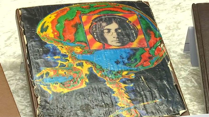 Polizei findet gestohlene Lennon-Tagebücher