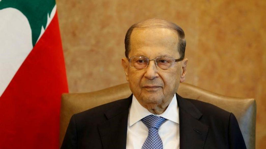 """عون يحذر من دفع لبنان """"باتجاه النار"""""""
