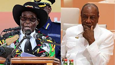 Mugabe's backdoor exit a shame - Alpha Conde