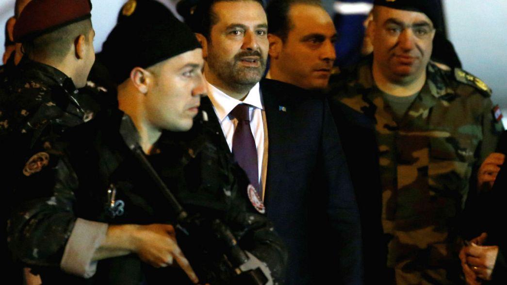 Saad Hariri nach Beirut zurückgekehrt