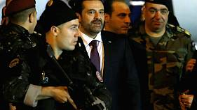 Újra otthon a libanoni kormányfő