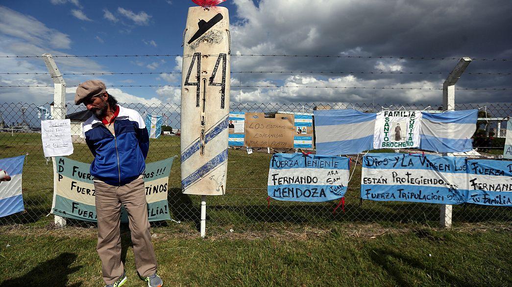 Arjantin kayıp denizaltıyı bulmak için hala umutlu