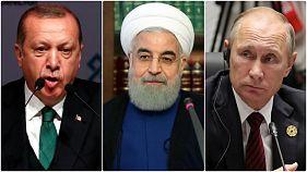 سران روسیه، ایران و ترکیه آینده سوریه را بررسی میکنند